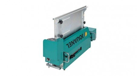 Profileuse électrique pour bacs à tasseaux,largeur maxi 650 mm,220 volts mono. - machine repliee