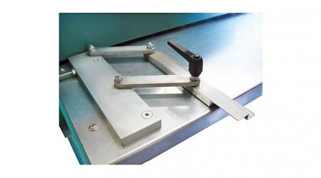 Raidisseuse en Z de 2,5 ml - acier 1,5 mm - detail guide entree