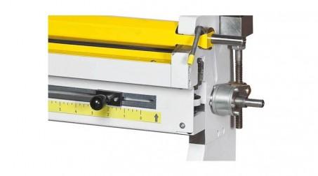 Rouleuse électrique,lg 650 mm capacité 2 mm acier doux rouleaux diam  60 x 60 x - Detail1