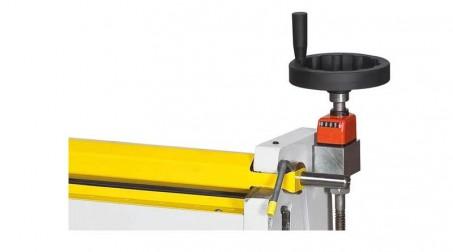 Rouleuse électrique,lg 650 mm capacité 2 mm acier doux rouleaux diam  60 x 60 x - Detail2