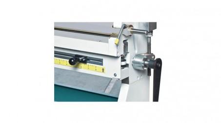 Rouleuse manuelle lg: 650 mm capacité 2 mm acier doux rouleaux diam  60 x 60 x 7 - detail1