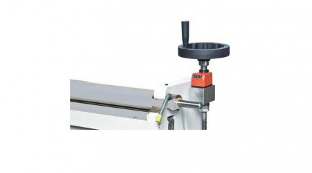 Rouleuse manuelle lg: 650 mm capacité 2 mm acier doux rouleaux diam  60 x 60 x 7 - detail2