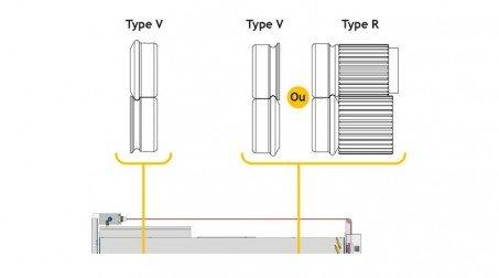 Rouleuse moulureuse auto ,1 moulure ,largeur 1000,capacité acier 0.8 mm - Emplacement molettes