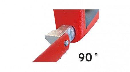Scie à métaux 300mm, qualité supérieure, monture antichoc - Detail3