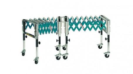 Table à rouleaux extensible - Assemblage par 2