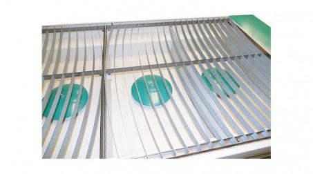 Table de découpe plasma 1500x3000mm,source PowerMax 45 Amp, contrôle numérique. - Vue Systeme aspiration et filtration