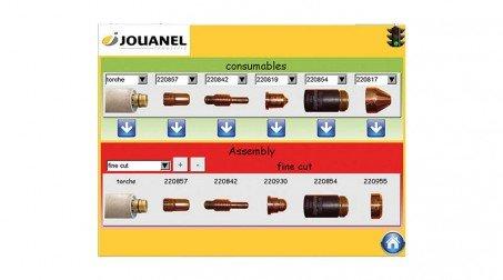 Table de découpe plasma 1500x3000mm,source PowerMax 45 Amp, contrôle numérique. - Vue logiciel1