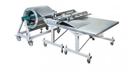 Table support 1000x1250 sur roulettes connectables pour sortie CLD