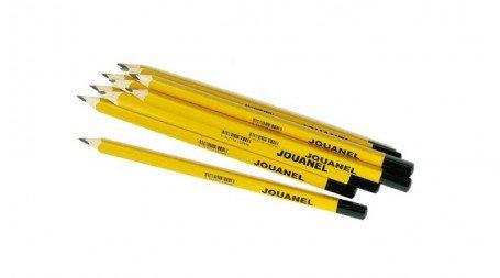 Lot de 10 crayons gras spécial métal