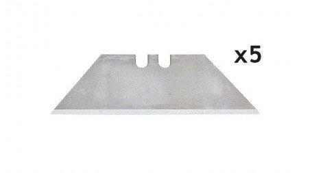 Lot de 5 lames trapézoïdale 60x19 mm