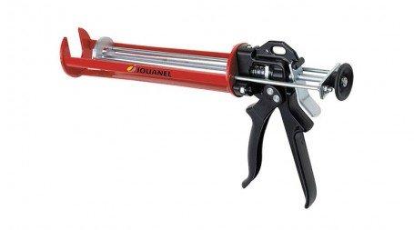 Pistolet à silicone à scellement chimique 310 ml, avance régulière par double pi
