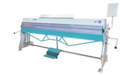 Plieuse manuelle d'atelier à segments PVXT