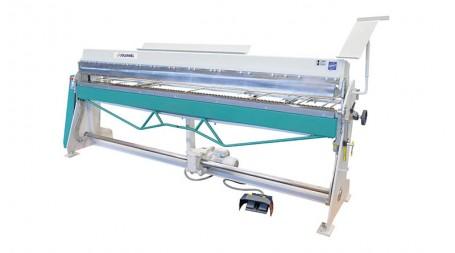 Plieuse manuelle semi-electrique à segments gamme PVXT