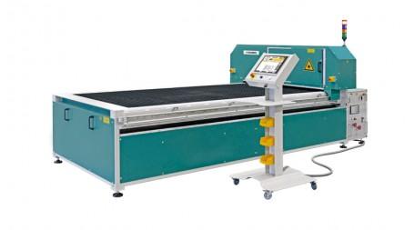 Table de découpe laser fibre