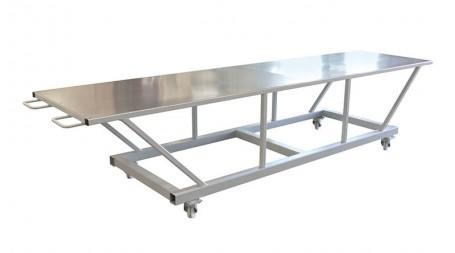 Table de travail mobile d'atelier, grande longueur