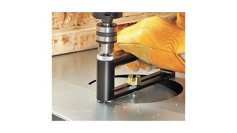 Accessoire multi-cut pour découpe circulaire diam de 51 à 305 mm, livré avec for - action3