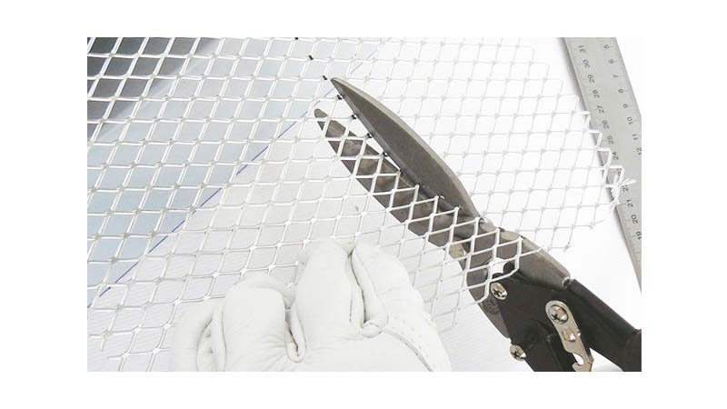 Cisaille à zinc universelle démultipliée avec lame de 75 mm, 300 mm - action