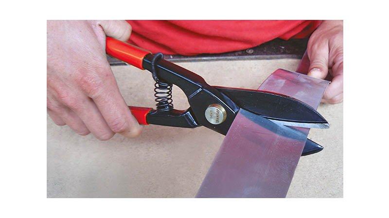 Cisaille lyonnaise qualité supérieure, 270 mm - action