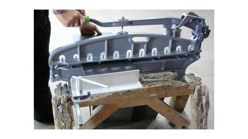 Cisaille pour ardoise fibro ciment 800 mm querre r glable de 45 300 mm jouanel industrie - Ardoise fibro ciment amiante ...