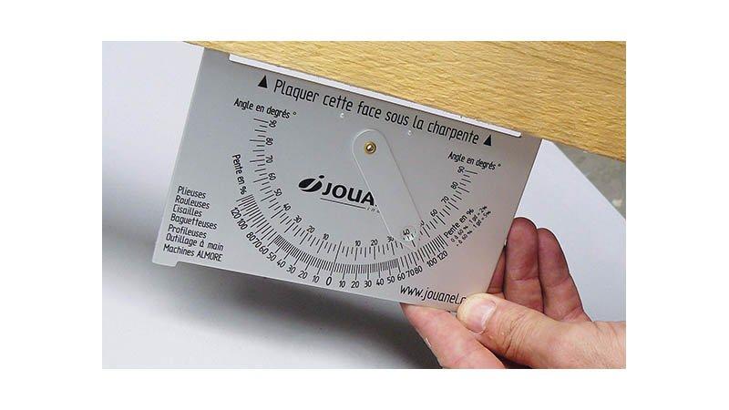 Déclimètre aluminium 90x150 mm, poids 70 g - action