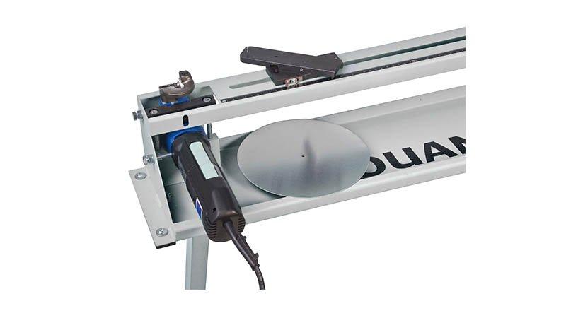 Découpe collerette élec - rayon 45 à 500 mm - acier 1,5 mm, livrée sans pied. - Disque decoupe fini