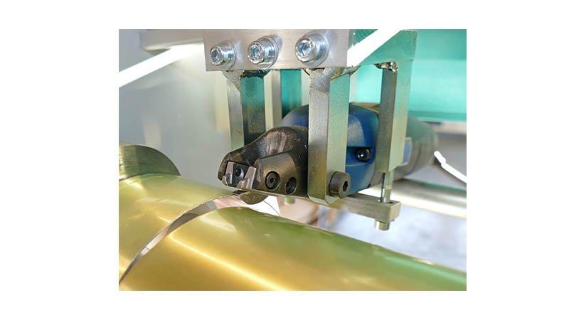 Découpe électrique de tuyaux longueur 1020 mm - acier 1 mm