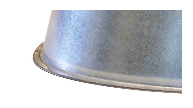 Machine à border et sertir les segments de coude Ø maxi 1250x1,2 mm - Bord femelle segment coude