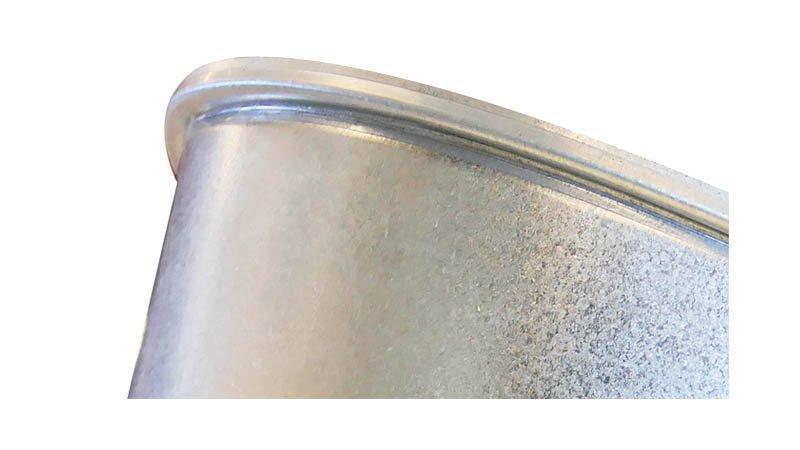 Machine à border et sertir les segments de coude Ø maxi 1250x1,2 mm - Bord male segment coude