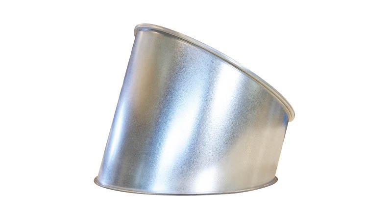Machine à border et sertir les segments de coude Ø maxi 1250x1,2 mm - segment coude