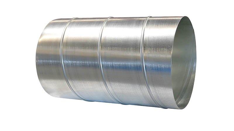 Machine pour gaines spiralées Ø 1250 mm avec contrôle numérique et coupe auto. - Ex Realisation