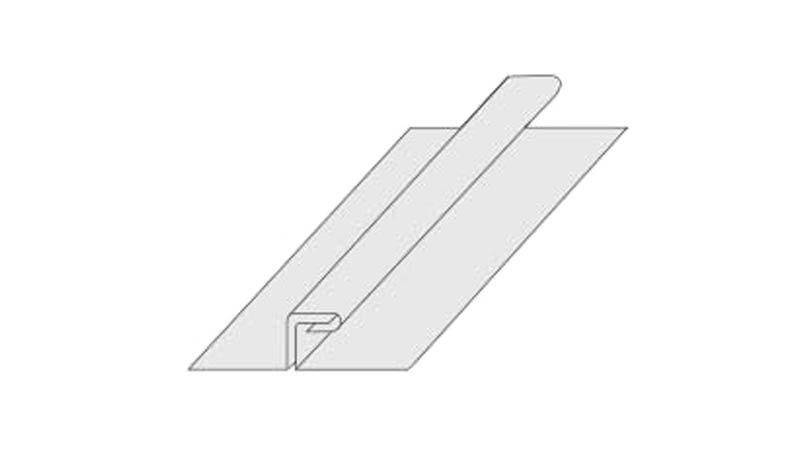 Pince à fermer le 1er pli, largeur 240 mm