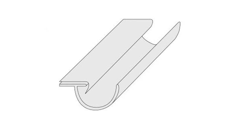 Pince à larmiers droite, largeur 230 mm - Schema4