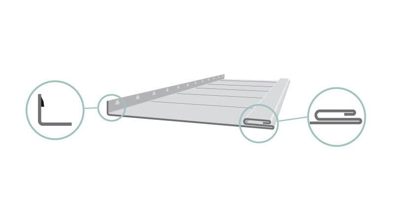 Profileuse Snaplock,capacité 1mm acier, - gabarit_Schemas_Profileuses_Snaplock