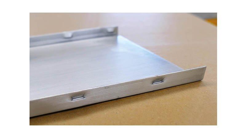 Profileuse Snaplock,capacité 1mm acier, - Crevé2 Snaplock
