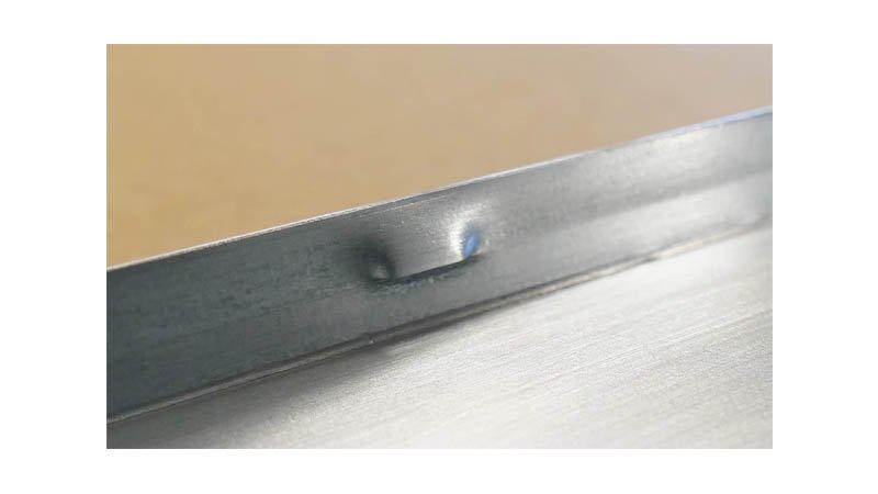 Profileuse Snaplock,capacité 1mm acier, - Zoom Crevé1 Snaplock