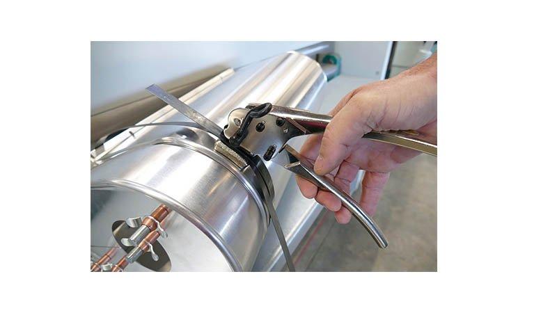 Tendeur pour feuillard largeur de 10 à 20 mm - Action